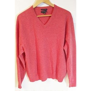 Club Room Men's Orange Cashmere Sweater